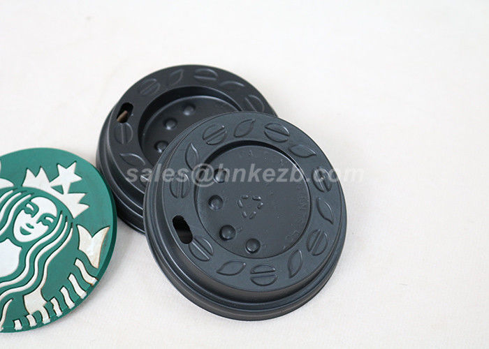 Compostable / Biodegradable Paper Solo Cup Lids For Hot Coffee Drinking Cup